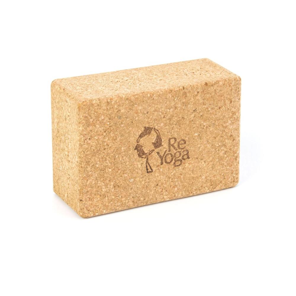 "Yoga Block in Sughero Riciclato ""ReBlock"" | ReYoga"